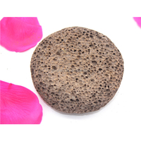 Wholesale foot care natural round pumice stone block,volcanic pumice stone