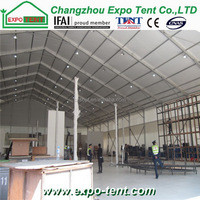 New design easy operation superb stretch exhibition tents