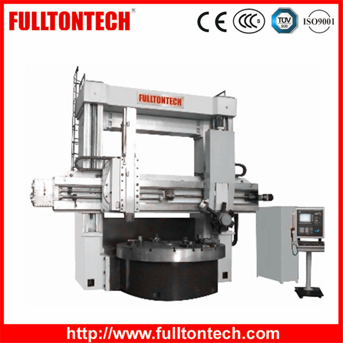CK52 Series Industrial Use Double Column Twin Turret CNC Lathe Vertical Type