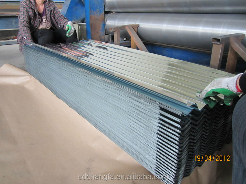 High strength, full hard corrugated galvanized roofing sheet