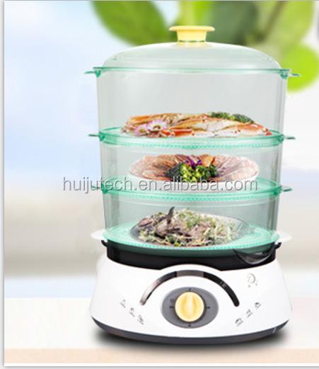 Glass Electric Steamer ~ Electric plastic food steamer hj buy
