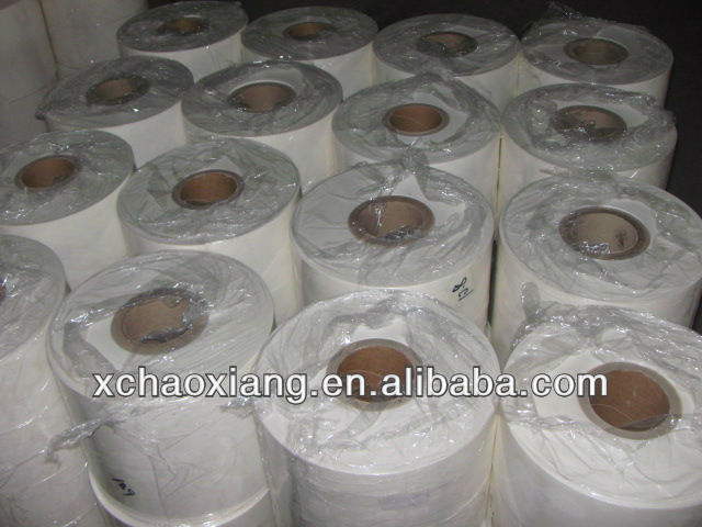 Semi-transparent polyester film for electric motor