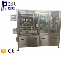 Powerrig machinery PWG-ZXS-8 liner type syrup filling capping machine for 50-200ml bottle