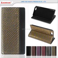 popular back cover scales pattern leather case with stand function for samsung galaxy j2 note2 N7100 N7108 N719 Note II