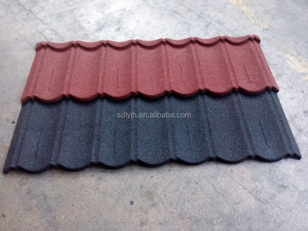 China Best building materials Roofig Tile Color Stone Coated Roofing Shingles,Aluminum Zinc Steel Roof Tile