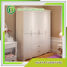 china suppiler bedroom wooden almirah designs, cheap modern pvc/melamine/MDF cabinet wardrobe, walk in storage closet