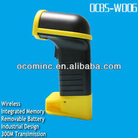 Shopping mall Portable Bluetooth Laser Barcode Reader With USB Receiver(OCBS-W006)