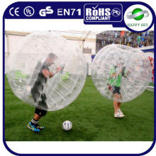 Customized CE prove PVC/TPU balls bouncing rubber,human inflatable bumper ball,blow up ball pit