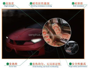 auto seat heating wire very thin ISO16949