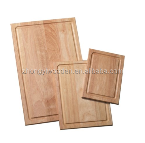 china factory FSC OAK kitchen wooden food cheese pizza bread cutting chopping board tray