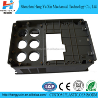 Black abs plastic pcb box electronics housing electronic board enclosures