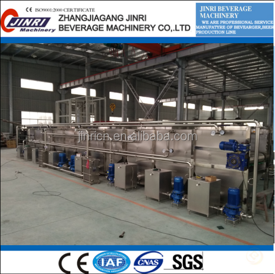 Continuous Tunnel Pasteurizer
