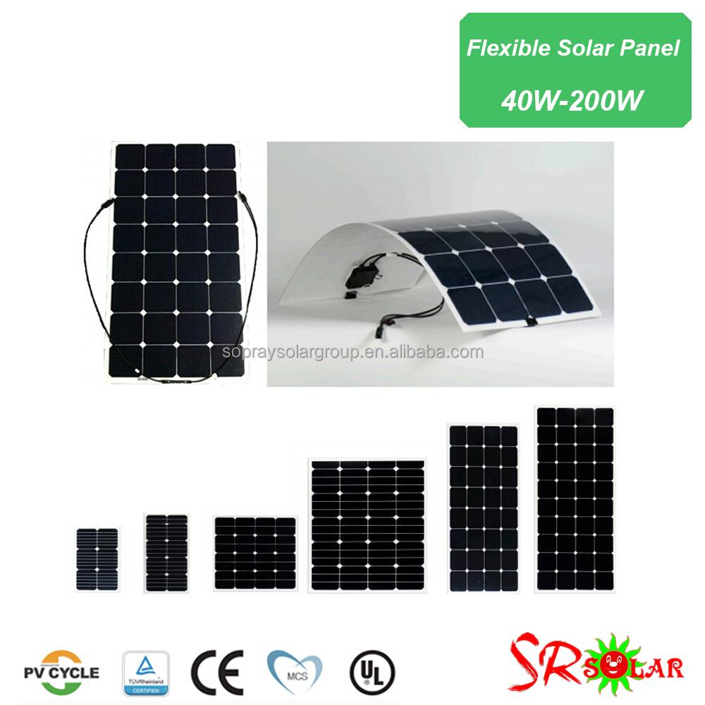 how to make flexible solar panels