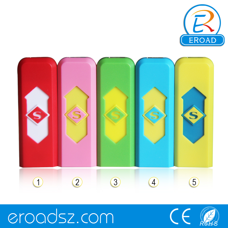 Eroad Easy to Use USB Charged Kitchen Lighter Windproof Flameless