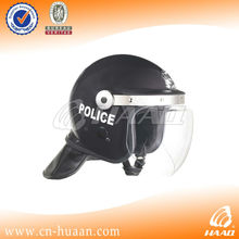 Anti riot helmet with gas mask