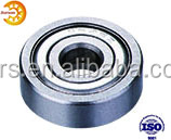 Stainless steel miniature wheel bearing shower doors roller S625Z