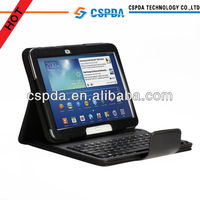 Popular bluetooth leather keyboard rugged case for samsung galaxy tab 3 10.1 for kids