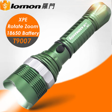 T9007 1101 security Led multi-function 2017 police flashlight