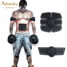 2018 Smart Abdominal Muscle Toner Electronic Sports Trainer ABS Stimulator