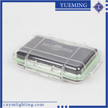 BC-1 Pleastic Transparent Waterproof Portable Clear 26650 Battery Case