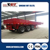 China Hot Sale 3 Axle Flatbed