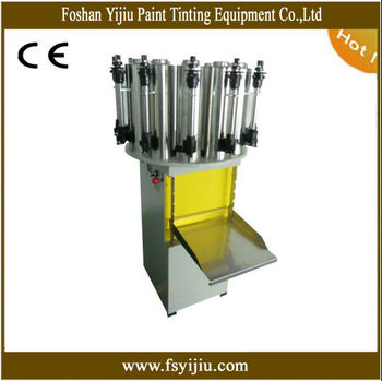Manual paint dispenser tinting machine for 20 litre for Paint tinting machine