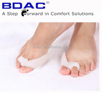 soft tpe gel bunion guard foot medical bunion toe separator