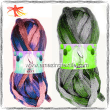 sequin fishnet knitting yarns