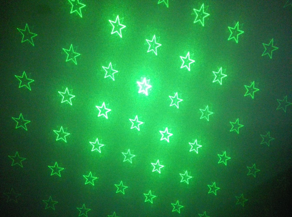 outdoor FACTORY Christmas IP65 RGB full stars 8 images laser garden light