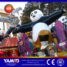 Cheap china amusement park rides kongfu panda jumping rides for sale
