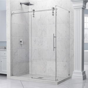 New frameless home depot shower glass door,standard sliding glass door size