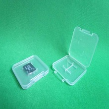 PP material sd card packaging case/boxes/holder