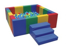 soft square ball pit