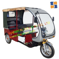 New 60V cheap strong electric bike rickshaw tricycle Borac