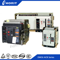 CE AC Universal Intelligent Drawable Type 3P Motorized Circuit Breaker