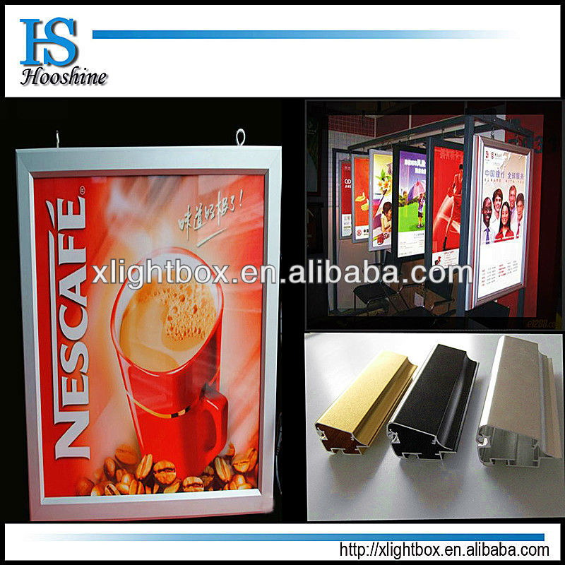 led backlit moving lighted picture frames light box