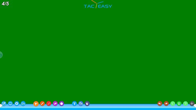 TACTEASY interact software with 40pcs android tablet PC