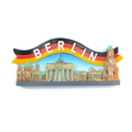 Custom different countries tourist 3D souvenir fridge magnet