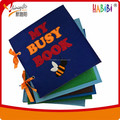 interactive textile book/ busy book for kids