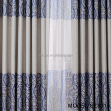 Hot selling high quality wedding voile blackout curtain