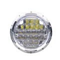 "7 inch led headlight 75W 7"" round led headlight 7'' high/low beam headlight for jeep wrangler"