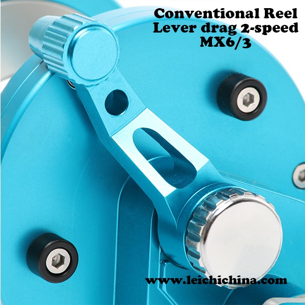 CNC 2 speed lever drag conventional slow jigging reel