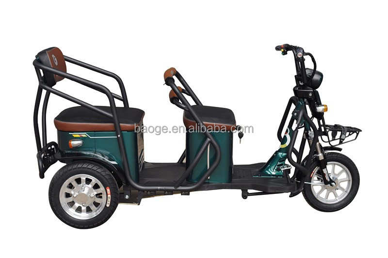 three wheel PASSENGER electric tricycles