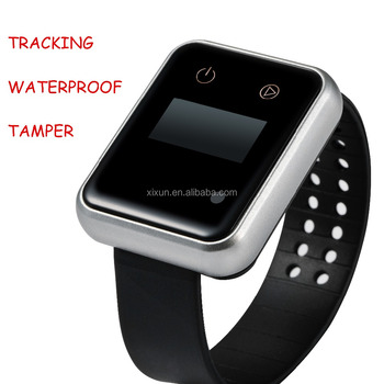 gps tracking bracelet for elderly fast track wrist watches with tracking APP