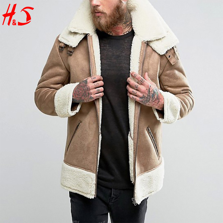 New Design Fashion Oversized Faux Shearling Jacket Winter Coats Faux Fur Coat