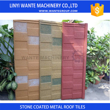 Factory directly sell sand Coated Metal Roofing with touch screen