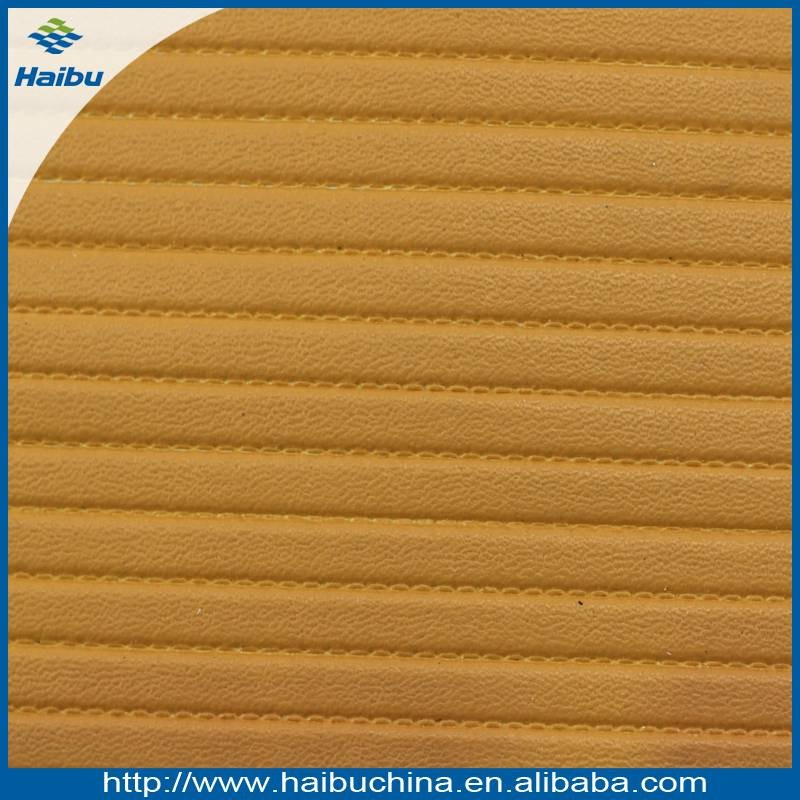 New design hot selling PVC imitation leather price per meter