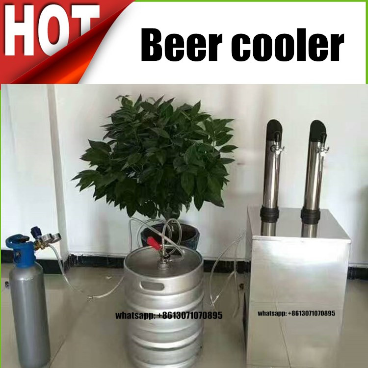 Factory sell electric automatic draught draft beer dispenser, beer cooler, beer dispenser for kegs