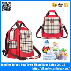 High quality wholesale baby backpacks shoulder mommy diaper bag with bat