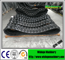 High quality rubber track of combined harvester for agricultural machinery